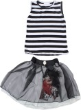 Art of Silver Girls Casual Top Skirt (Bl...
