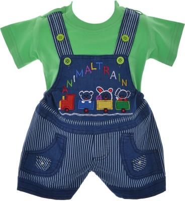 Xtrem Baby Boy's Blue, Green, White, Red, Orange, Purple, Gold Romper