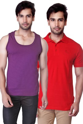 LUCfashion T-shirt Men's  Combo