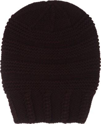 TheGudLook Grey Ball Hat Solid Skull Cap