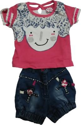Mehta Top Baby Girl's  Combo