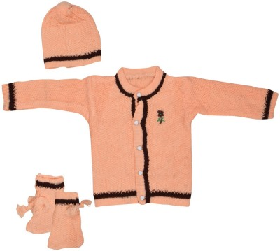 AKHIL & AARNA Sweater Baby Girl's  Combo
