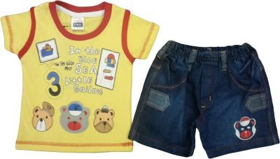 Born Genius T-shirt Baby Boy's  Combo
