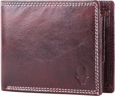 WildHorn Men, Women Casual, Formal Red Genuine Leather Wallet