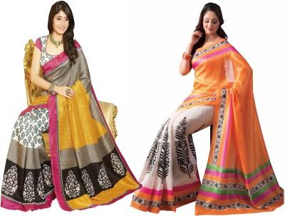 Glory Sarees Sari Women's  Combo