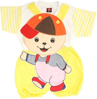 Koolkids Dungaree Baby Boy's  Combo