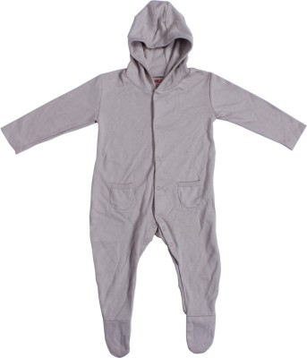 Indirang Solid Baby Boy's Jumpsuit