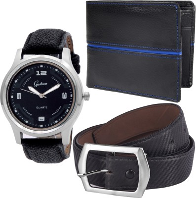 Gesture Wrist Watch Men's  Combo