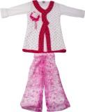 Yashasvi Girls Casual T-shirt (Pink)