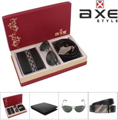 Axe Style Wallet Men's  Combo