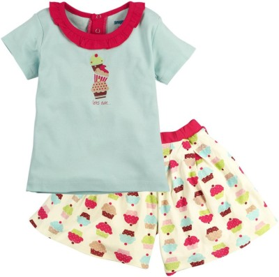 Snuggles Top Baby Girl's  Combo