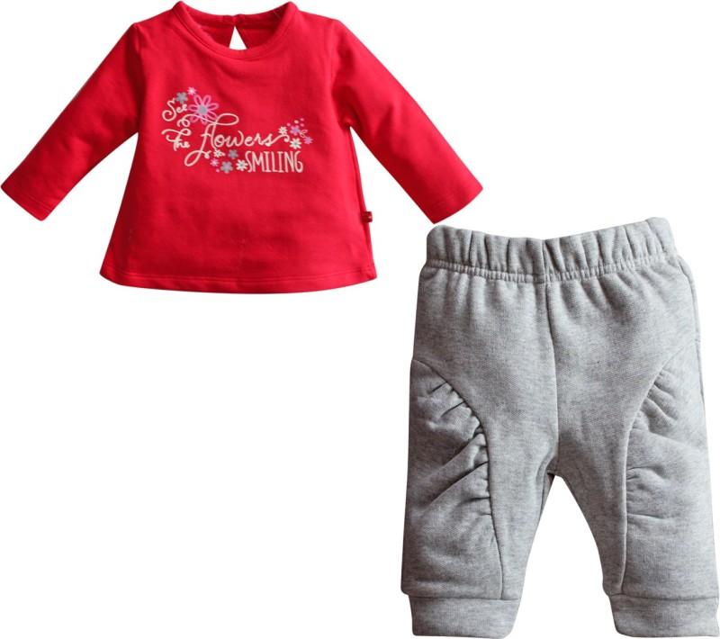 FS Mini Klub Top & Bottom Set T-shirt Baby Girls  Combo