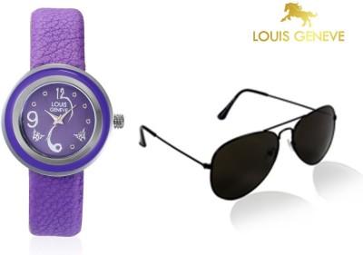 Louis Geneve Wrist Watch Women's  Combo