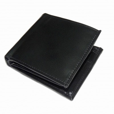 RABARMAN Men Black Artificial Leather Wallet