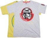 Kidsville Boys Casual T-shirt (Grey)