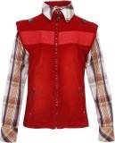 OKS Boys Boys Casual Shirt Jacket (Maroo...