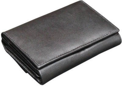 Winsome Deal Women Formal, Casual Black Genuine Leather Wallet