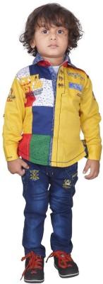 Color Kids Shirt Baby Boy's  Combo