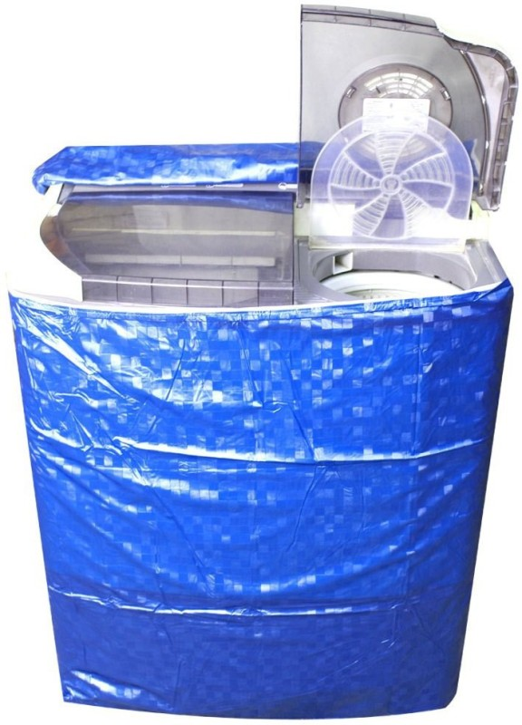 Divine Decor Washing Machine Cover(Blue)