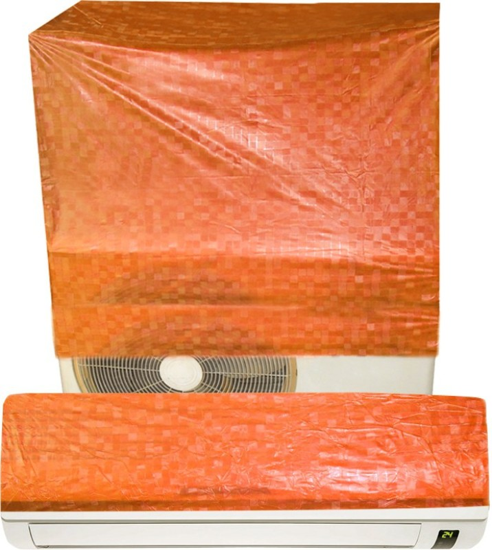 E-Retailer Air Conditioner Cover(Orange)