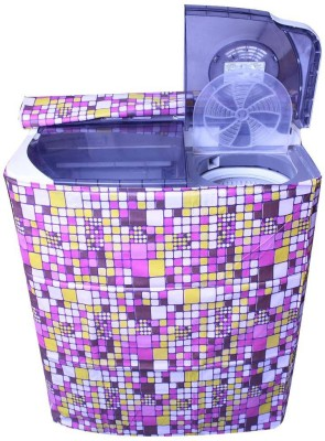 E-Retailer Washing Machine Cover(Multicolor)