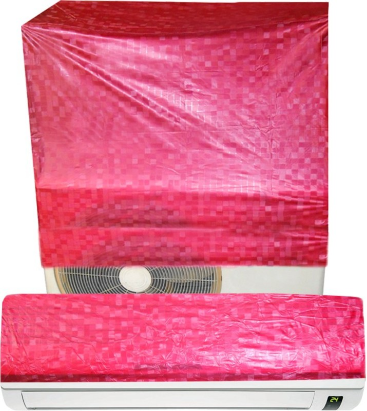 E-Retailer Air Conditioner Cover(Red)