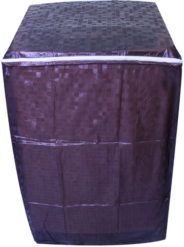 Divine Decor Washing Machine Cover(Dark Brown)
