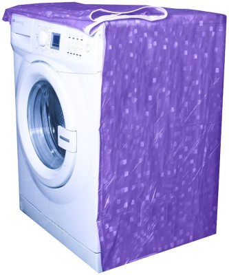 E-Retailer Washing Machine Cover(Purple)