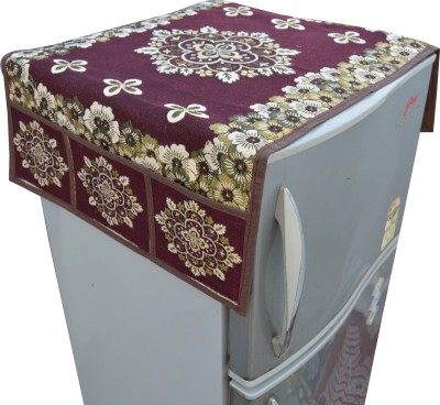 Nisol Refrigerator Cover(Brown)