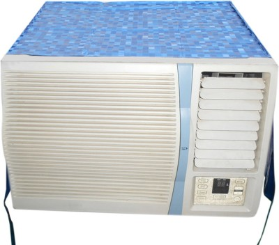 E-Retailer Air Conditioner Cover(Blue)