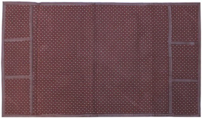 E-Retailer Refrigerator Cover(Brown)