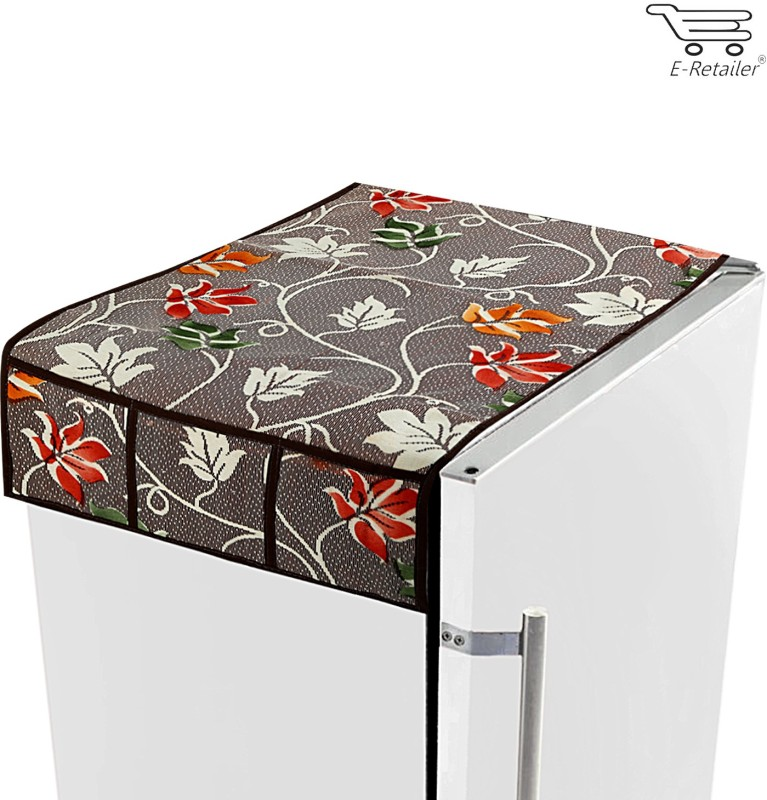 E-Retailer Refrigerator Cover(Multicolor)