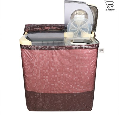 E-Retailer Washing Machine Cover(Brown)