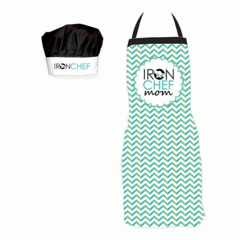 Giftsmate Polyester Apron Free Size(Green)