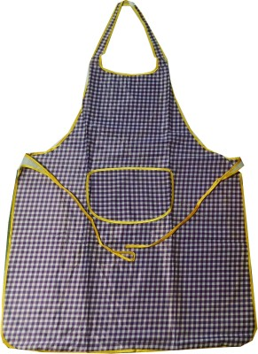 Welhouse Polyester Apron Free Size(Purple, Single Piece) at flipkart