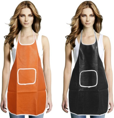 JH Nylon Home Use Apron - Free Size(Multicolor, Pack of 2) at flipkart