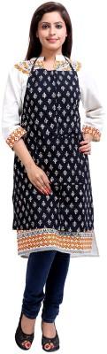 Rajrang Cotton Home Use Apron - Free Size(White, Black, Single Piece) at flipkart