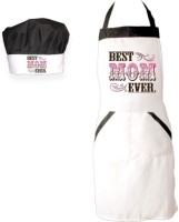 Giftsmate Cotton Chef's Apron - Free Size(White)