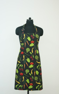 Morning Blossom Cotton Apron Free Size