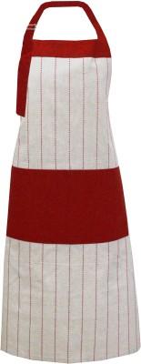 Milano Home Cotton Apron Free Size(Multicolor, Single Piece) at flipkart