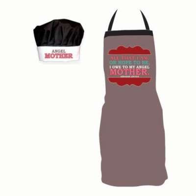 Giftsmate Polyester Apron Free Size
