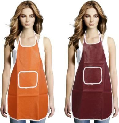 JH Nylon Apron Free Size(Multicolor, Pack of 2) at flipkart
