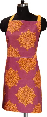 Sanjeev Kapoor Cotton Apron Free Size(Orange, Purple, Single Piece) at flipkart