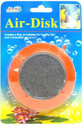 Aim Air-Disk Item No-14043 | Creates a flow or bubbles for healthy fish and a beautiful Aquarium Air Stone