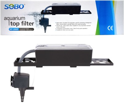 Sobo Aquarium Top Filter WP-2880F (Power:-30W | F.Max:1800L/Hr) Power Aquarium Filter
