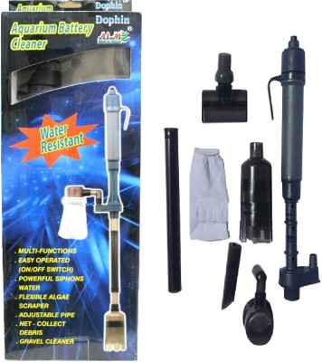 Dophin Battery Cleaner Pump Undergravel Aquarium Filter