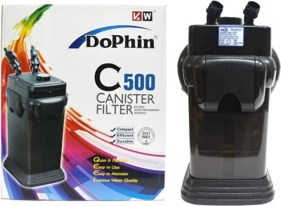 Dophin C-500 Powerful Canister Aquarium Filter