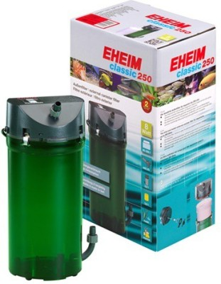 Eheim Classic 250 External Canister Aquarium Filter(Mechanical Filtration for Salt Water and Fresh Water)