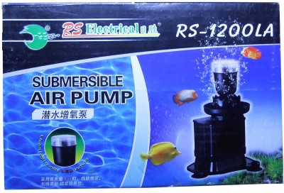 RS Electrical RS-1200LA Submerisable Air Aquarium Pump