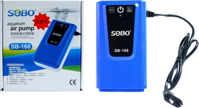 Sobo SB-168 | Latest Design & High Quality Air Aquarium Pump